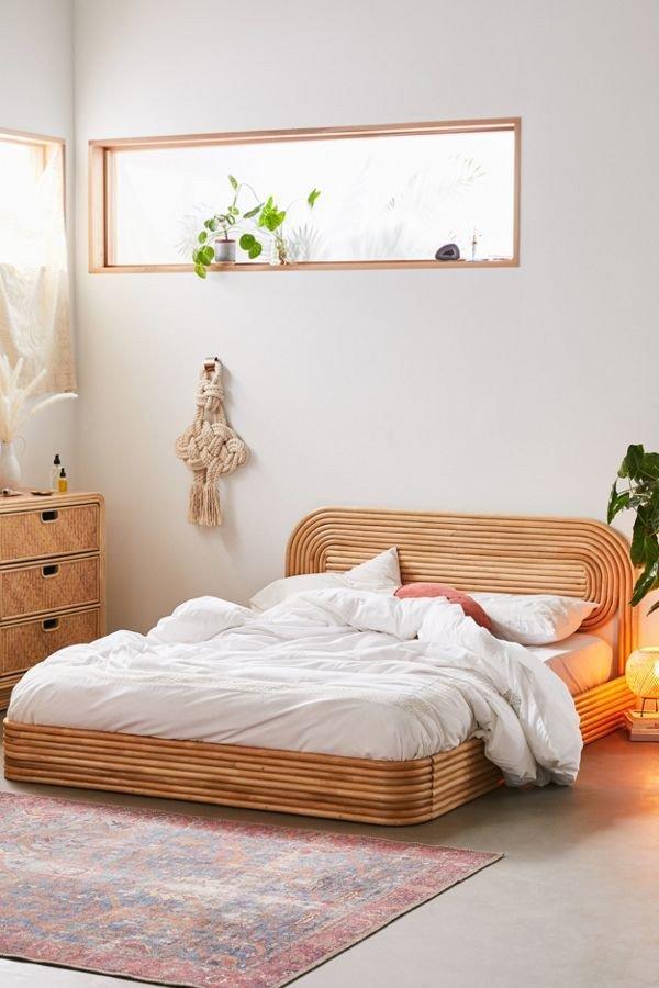 Phòng ngủ nội thất mây